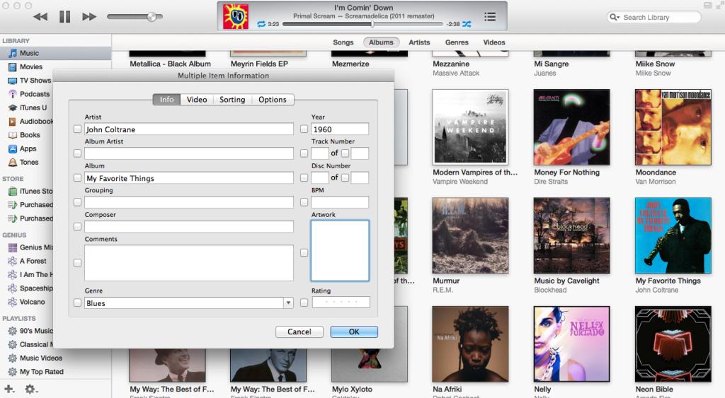iTunes album art 1