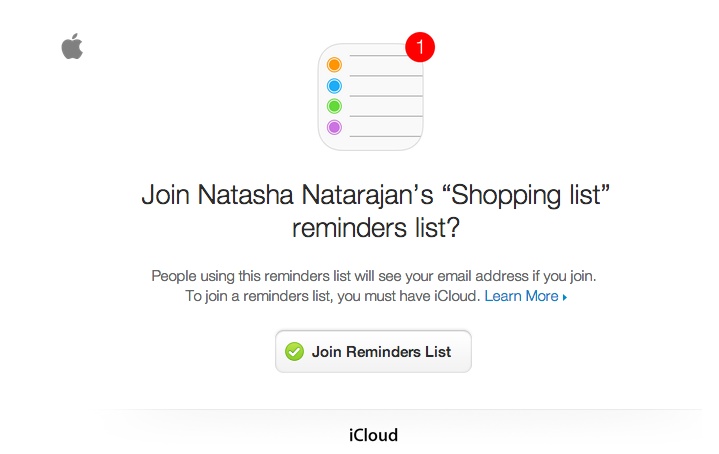 reminders email