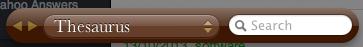thesaurus widget