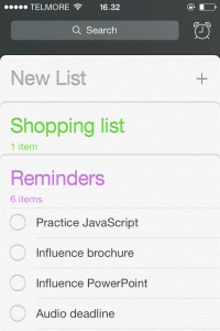 reminders iphone